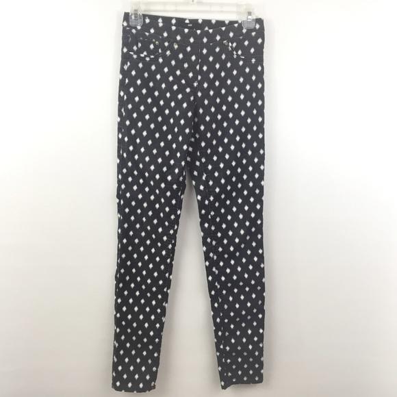 9883ae5ac561d H&M Pants   Hm Leggings Size 4 Black Diamond Print   Poshmark